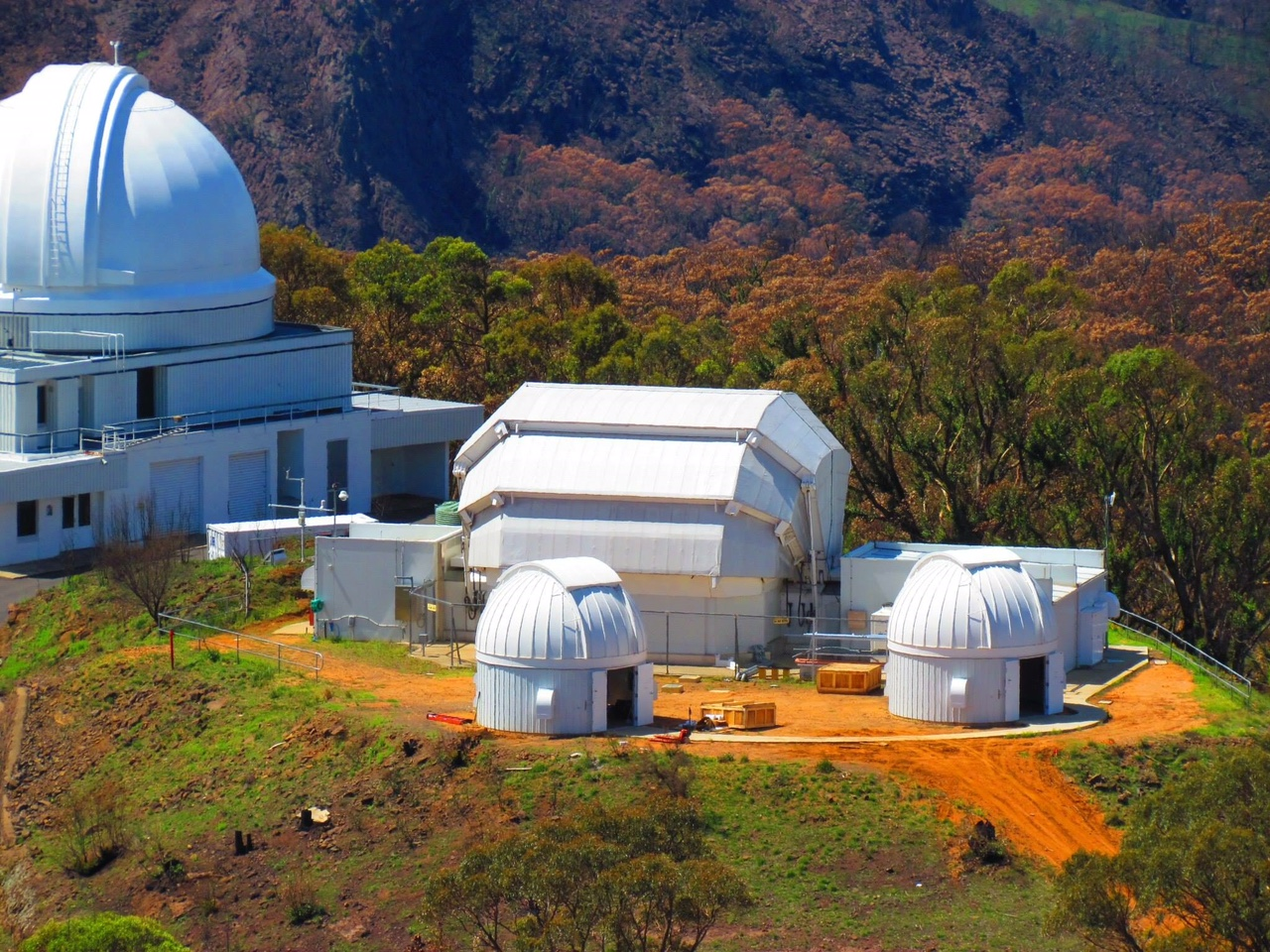 Faulkes Telescope project tour