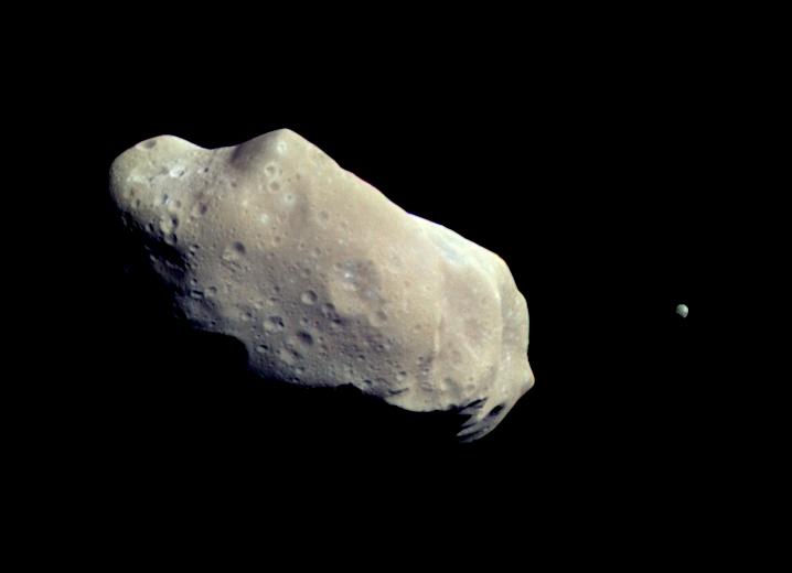 Spot an asteroid