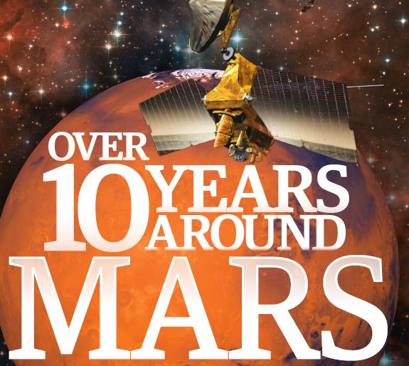Over 10 Years Around Mars