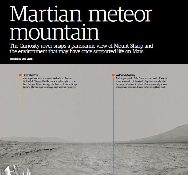 Martian Meteor Mountain