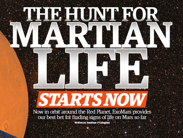 The hunt for Martian life